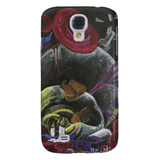 Need not Suffer Alone - Sickle Cell Art Galaxy S4 Covers