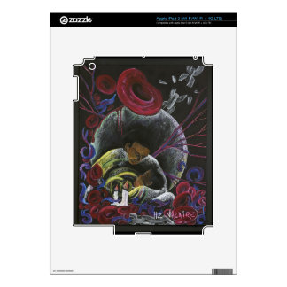 Need not Suffer Alone - Sickle Cell Art Decal For iPad 3