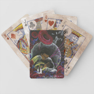 Need not Suffer Alone - Sickle Cell Pain Awareness Bicycle Playing Cards