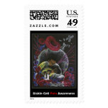 """""""Need not Suffer Alone"""" Sickle Cell Pain Awareness Stamps"""