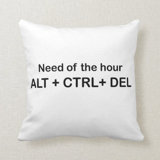 Need of the hour throw pillows