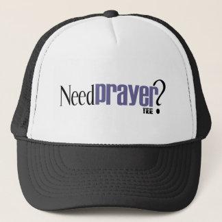 Need Prayer Tee Design Trucker Hat