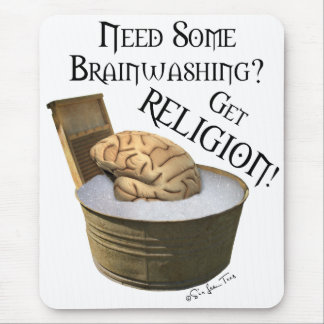 Need Some Brainwashing? Mouse Pad