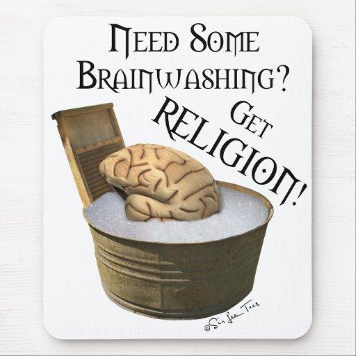 Need Some Brainwashing? Mouse Pad