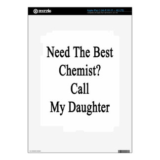Need The Best Chemist Call My Daughter iPad 3 Skin