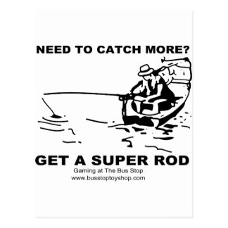 Need To Catch More? Postcard