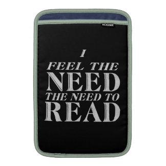 Need to Read MacBook Sleeves