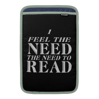 Need to Read MacBook Air Sleeves