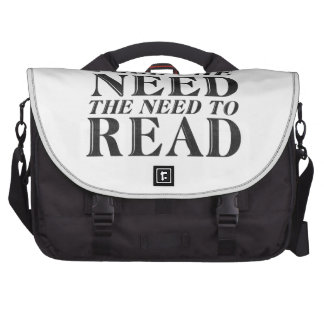 Need to Read Computer Bag