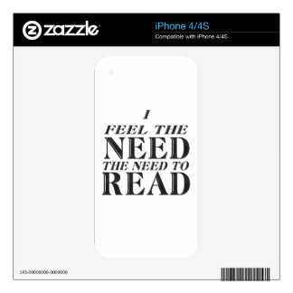 Need to Read Decals For The iPhone 4
