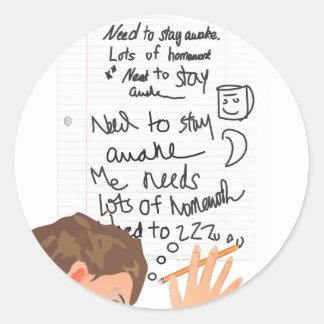 Need to Stay Awake Stickers