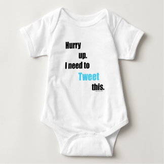 Need to Tweet this Baby Bodysuit