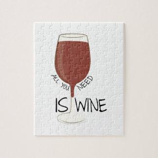 Need Wine Puzzle