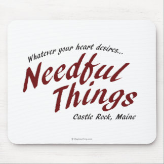 Needful Things Mouse Pad