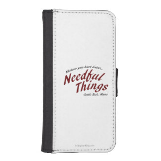 Needful Things Phone Wallets