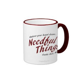 Needful Things Ringer Coffee Mug