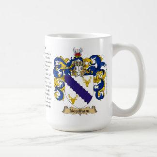 Needham, el origen, el significado y el escudo taza clásica