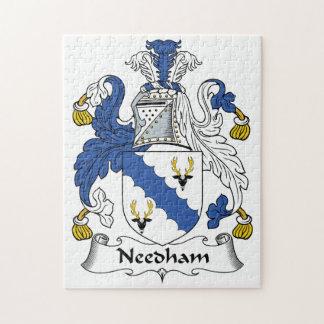 Needham Family Crest Jigsaw Puzzles