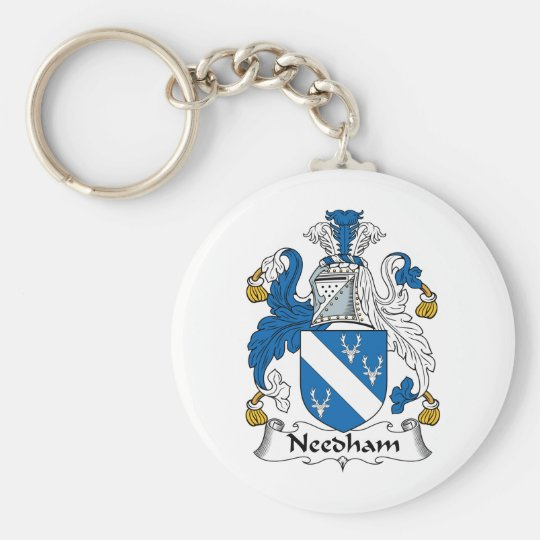 Needham Family Crest Keychain