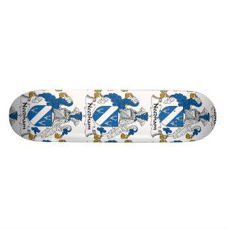 Needham Family Crest Skate Board
