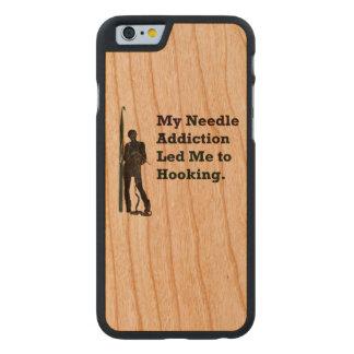 Needle Addiction Carved® Cherry iPhone 6 Case