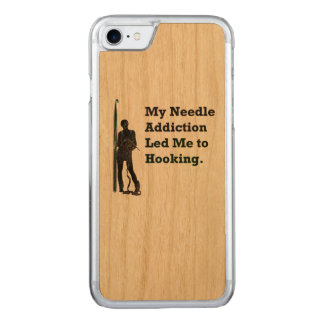 Needle Addiction Carved iPhone 7 Case