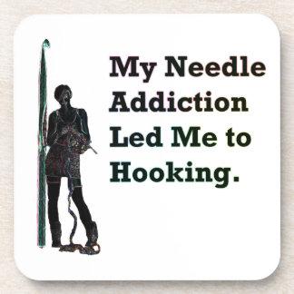 Needle Addiction Coaster Set