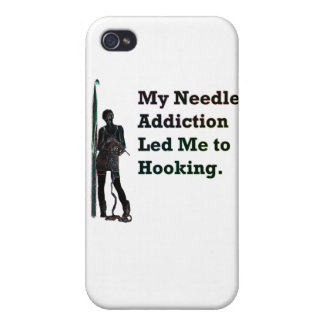 Needle Addiction Covers For iPhone 4