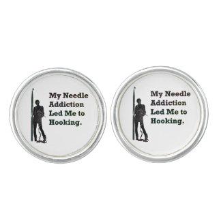 Needle Addiction Cufflinks