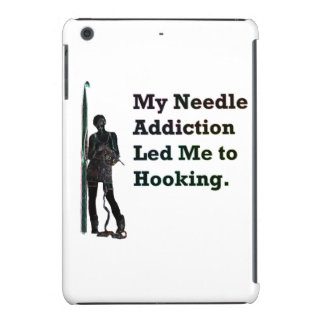 Needle Addiction iPad Mini Cover