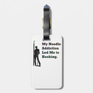 Needle Addiction Luggage Tag