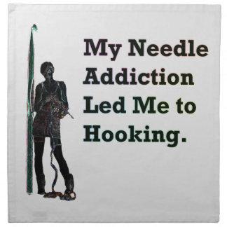 Needle Addiction Napkin