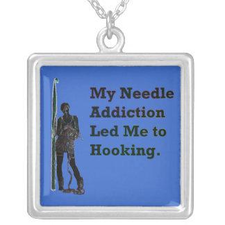 Needle Addiction Necklace