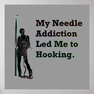Needle Addiction Poster
