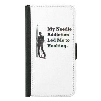 Needle Addiction Samsung Galaxy S5 Wallet Case