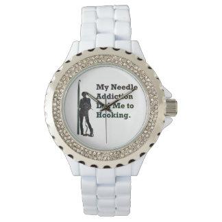 Needle Addiction Wrist Watches