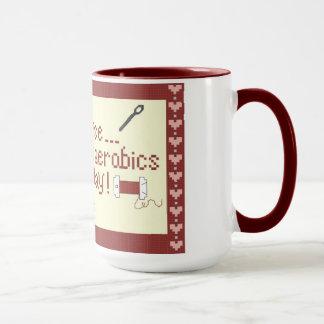 Needle Aerobics Mug