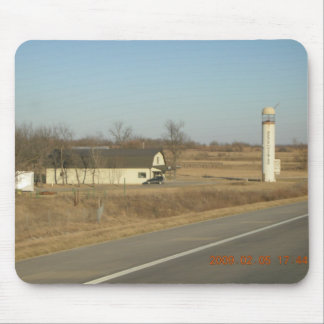 Needle In The Haystack (Silo) Se Kansas Mouse Pad