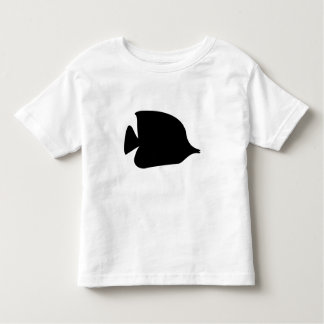Needle Nose Fish Silhouette Tee Shirts