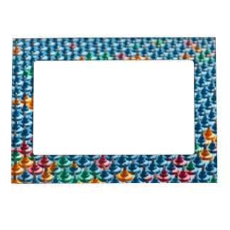 Needle plate applicator magnetic picture frame