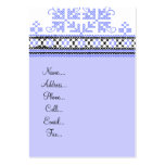 Needle point design large business cards (Pack of 100)