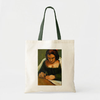 NEEDLE WORK TOTE: OLD MASTERS: PAINTING TOTE BAG