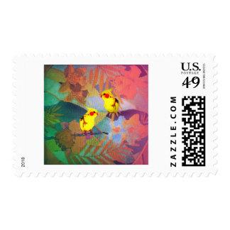 Needlepoint Bird-lovers Postage