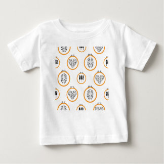 Needlepoint embroidery frames baby T-Shirt
