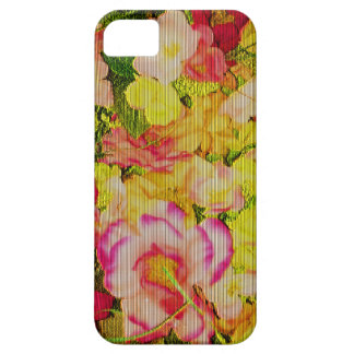 Needlepoint flowers iPhone 5 covers