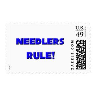 Needlers Rule! Postage Stamp