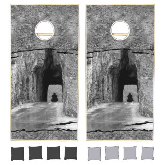 Needles Highway Tunnel Cornhole Set