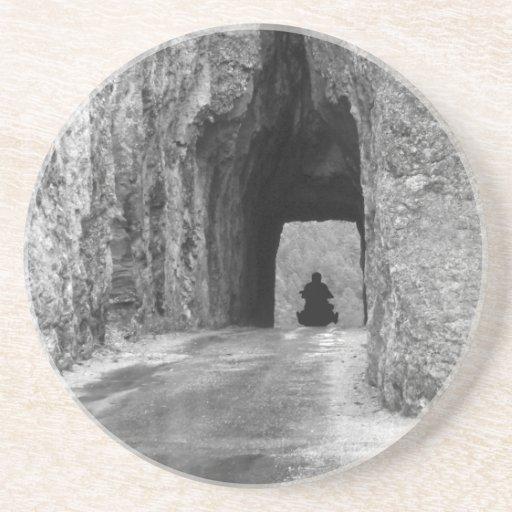 Needles Highway Tunnel Drink Coaster
