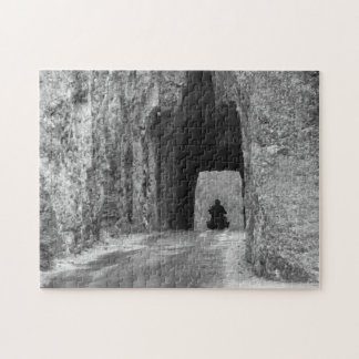 Needles Highway Tunnel Jigsaw Puzzle