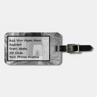 Needles Highway Tunnel Luggage Tag